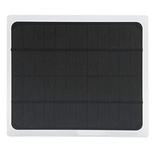 Asixxsix Cargador de Panel Solar, Panel de Carga Solar Duradero, automóviles, Barcos Seguros Profesionales al Aire Libre