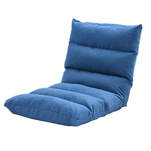 Lvhan Bodenstuhl - Klappbar Bodensessel,Sitzkissen mit Rückenlehne für Meditieren, Lesen, Videospielen