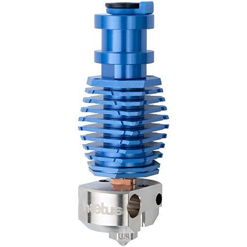 Bis zu 500 ℃ Ganzmetall Libelle Hotend Bimetall Heatbreak mit beschichteter Kupfer-Heizblock-Düse für Upgrade V6 Hotend Prusa i3 MK3 MK3S BMG Extruder Titan Extruder 3D-Drucker (BM0)