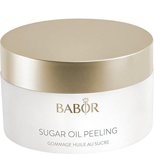 BABOR CLEANSING Sugar Oil Peeling, vitalisierendes 2 in 1 Zucker-Öl Peeling, mit natürlichem Argan-, Sesam-, und Macadamianussöl, 50ml