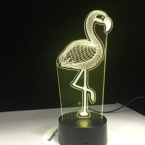 Flamingo Lights Regalos de cumpleaños para niños Night Lights Power Bank Lighting Luces de decoración de Pared inalámbricas