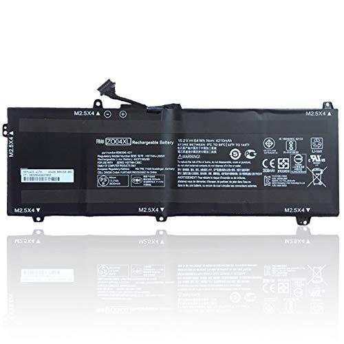 efohana ZO04XL Laptop Battery Replacement for HP ZBook Studio G3 Mobile Workstation HSN-C02C Series Notebook HSTNN-LB6W ZO04 808396-421 HSTNN-CS8C HSTNN-C88C 808396-42 15.2V 64Wh 4210mAh