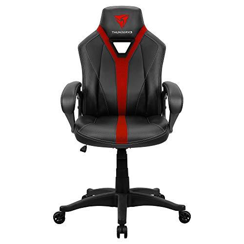 ThunderX3 YC1 Gaming-Stuhl AIR-Technologieatmungsaktiv und mikroperforiert rot