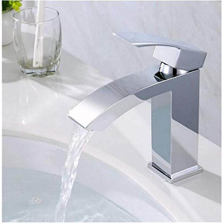 Wasserhahn Küche Bad Garten Badezimmer-Wasserfall-Becken-Hahn-Einzelnes Loch Ctzl2554