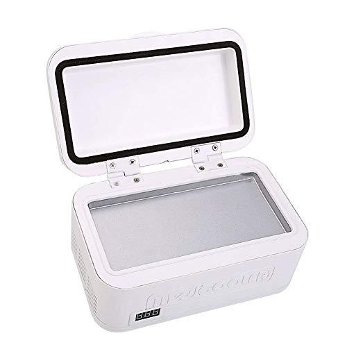 YYhkeby Furniture Portable Coche refrigerador, Pantalla LCD Recargable, Caja de refrigeración Mini insulina Caja refrigerada, para Almacenamiento de Drogas de Camping de Viaje Jialele