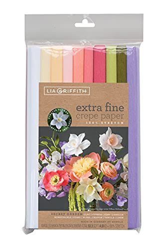 Daler Rowney Extra Fine Crepe Paper Papel extrafino, 10, Colores Variados, 9.8 X 78.7 Inch