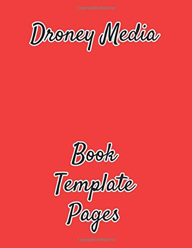 Droney Media: Book Template Pages