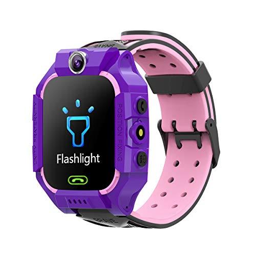 Romacci Q19 Kids Smart Watch Video Chat Jogos inteligentes Fotografia remota SOS Ajuda de emergência Smart Watch