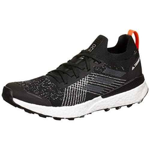 adidas Terrex Two Ultra Parley, Zapatillas Deportivas Hombre, Core Black/Grey Three F17/BLUE Spirit, 45 1/3 EU