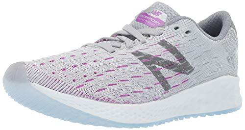 New Balance Women's Fresh Foam Zante Pursuit V1 Running Shoe, Light Aluminum/Steel/Voltage Violet, 5.5 W US
