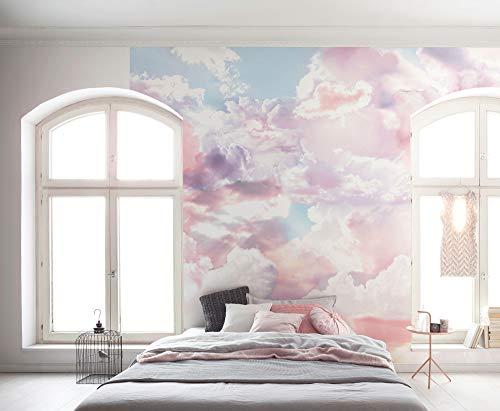 Komar - Vlies Fototapete CLOUDS - 300 x 250 cm - Tapete, Wandgestaltung, Design, Wandbelag, Schlafzimmer, Wolkenhimmel - SO-6027