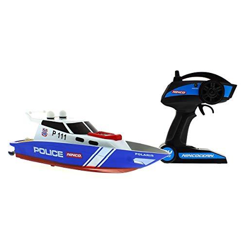 Ninco Polizeiboot, Mehrfarbig (NH99032), Farbe/Modell Sortiert