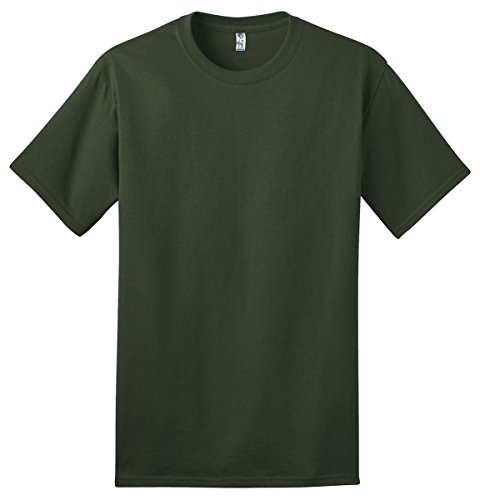 Port & Company® - Ring Spun Cotton Tee. PC150 Olive S