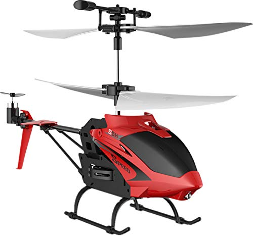 Syma- Helicopter S5H 2.4G 3.5CH R/C - Rojo, Color Mixto (Tobar 36762)