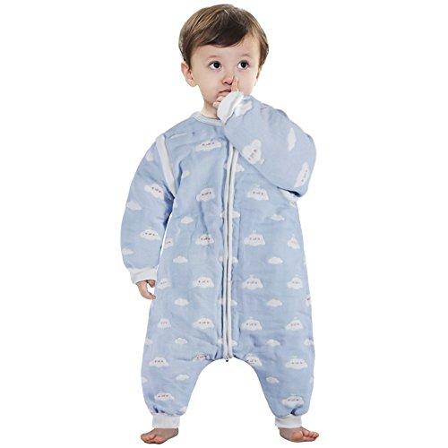Lictin Saco de dormir para bebés con mangas extraíbles