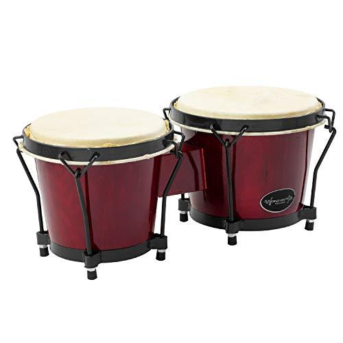World Rhythm Bongo Drums de 6