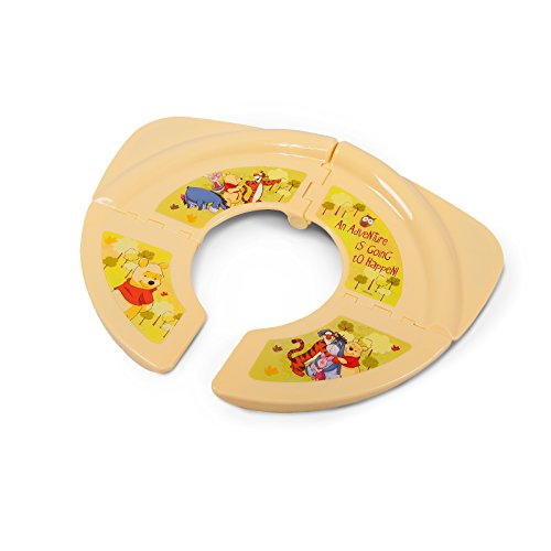 Kinder faltbarer Reise WC Aufsatz Toilettentrainer Klapp-Toilettensitz Disney Winnie Pooh