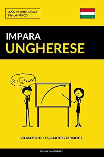 Impara l'Ungherese - Velocemente / Facilmente / Efficiente: 2000 Vocaboli Chiave