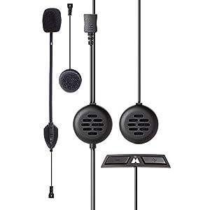 immagine di Midland BT Go Uni Interfono Moto Casco Bluetooth per Conversazioni Pilota Passeggero, Portata 200m, Universale per Tutti i Caschi, Audio Chiaro, Soppressione del Rumore DSP e Batteria di Lunga Durata