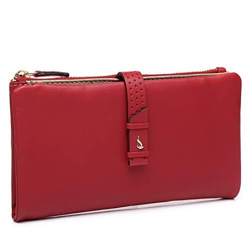 Abbacino Portafoglio Donna Grande 70381-Red