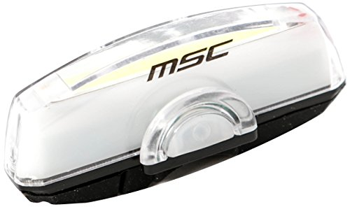 MSC Bikes Stick Light Luz Led para Bicicleta, Blanco, 100 Lumens