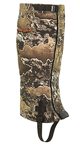 Kenetrek Unisex Waterproof Breathable Quiet Hunting Gaiters Shoe, Realtree Excape, Large Men