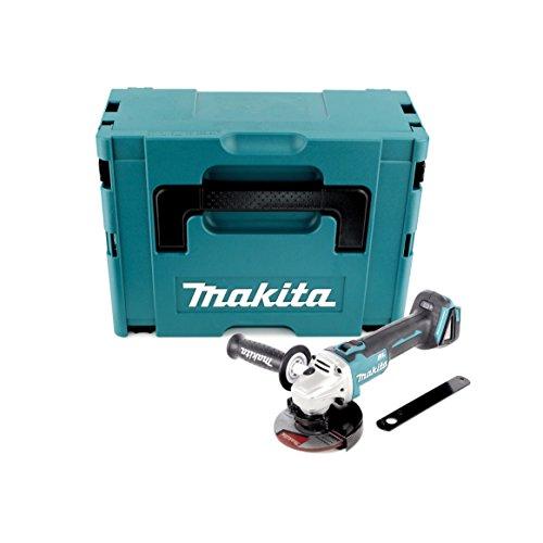 Makita - DGA506ZJ - Mini Grinder avec protection de réinitialisation - 70 W , 18 V - Bleu