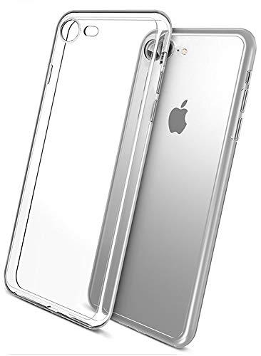 COVERbasics AIRGEL 0.3mm per Apple iPhone 7 iPhone 8 4.7 Cover Custodia con Bordo Protezione Proteggi Fotocamera Trasparente Silicone Gel Gomma TPU Flessibile Sottile Fina Invisibile Ultra Thin Slim
