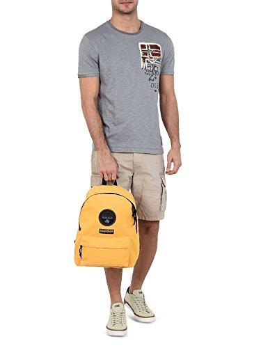 Napapijri Voyage 1 Casual Daypack, 40 cm, Yellow (Giallo)