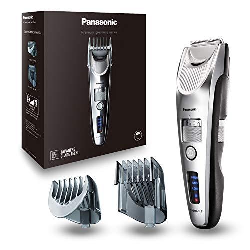 Panasonic Premium Haarschneider ER-SC60, 39 Längeneinstellungen, Haartrimmer 0,5-20 mm, Trimmer für Herren, mit Ladestation, Linearmotor