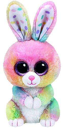 TY 37212 37212-Beanie Boo's Bubby Hase mit Glitzeraugen, 15 cm, Mehrfarbig
