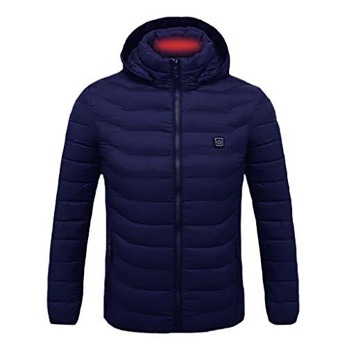Buy Seaintheson Men's Heated Vest,USB Charging Electric Heated Jacket Winter Washable Warm Waistcoat...