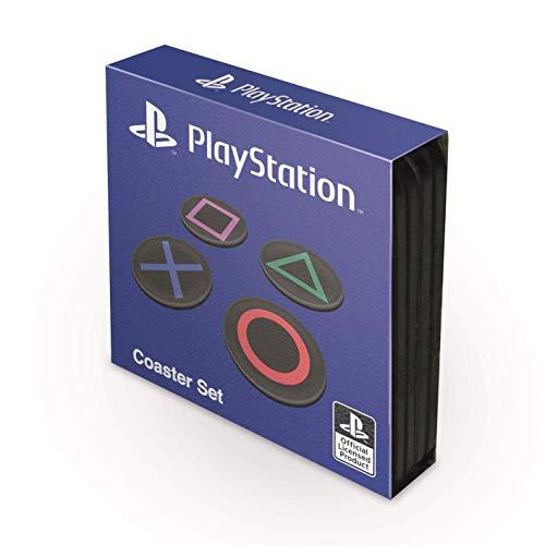 Untersetzer Playstation 4er-Set