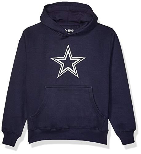 NFL Dallas Cowboys Youth Logo Premier Hoody, Navy, X-Large
