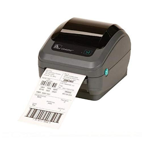 Zebra GK420d rev2, 8 Punkte/mm (203dpi), EPL, ZPL, USB, Printserver (Ethernet)