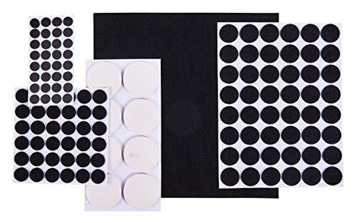 Am-Tech Anti-Rutsch-Pads für Möbel, 125 Stück