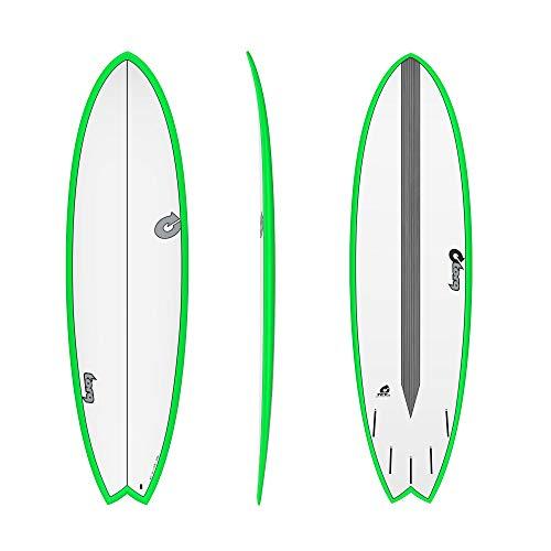 TORQ Epoxy TET CS 6.6 - Tabla de Surf, Color Verde