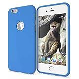 NALIA Funda Neon Compatible con iPhone 6 6S, Carcasa Protectora Movil Silicona Ultra-Fina Gel Bumper, Ligera Goma Cubierta Cobertura Delgado Telefono Cover Smart-Phone Case, Color:Azul