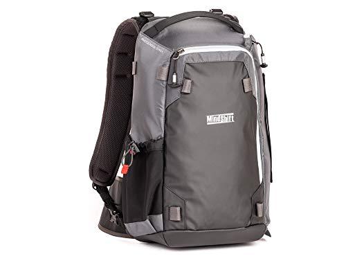 MindShift Gear PhotoCross Rucksack 13 für Sony, Fuji, Canon, Nikon, DSLR, spiegellos, Kohlenstoffgrau