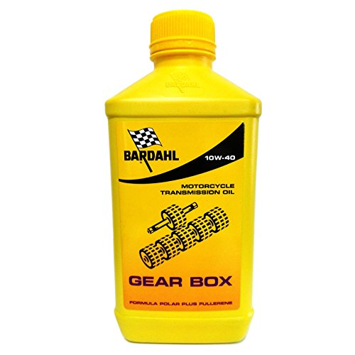 Huile Transmission moto Bardahl Gear Box 10 W40 – 1 litre – Min. 2 lT.