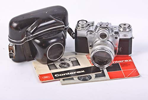 Purchase CONTAREX 35MM Film SLR W PLANAR 50MM F2.0 Lens,CASE and Manual