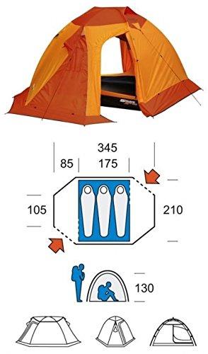 Tenda Ferrino Svalbard 3 T9 4000 arancio