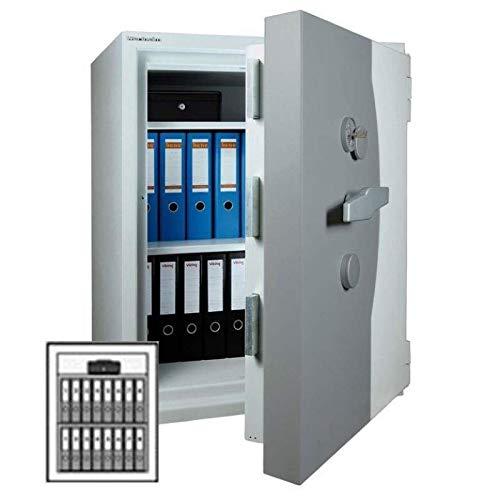 Wertheim Wertschutzschrank CWS1000, Mechanisches Zahlenkombinationsschloss La Gard 3390 VZ, Grad 3 nach EN 1143-1, H100.3xB81xT72.5 cm, 1010 kg