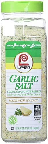 Lawry's Garlic Salt Larger Catering Size 935g Tub