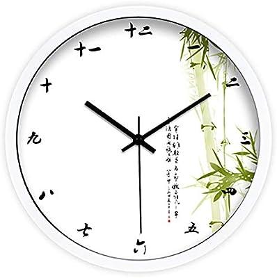 Creative Simple Wall Clock Antique Chinese Art Large Watch Retro Digital Wall Clock Modern Design Relojes