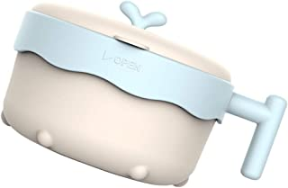 STOBOK Baby Suction Bowl Safe Self Training Baby Toddlers Bowl Leak-Proof Baby Feeding Bowl with Lids