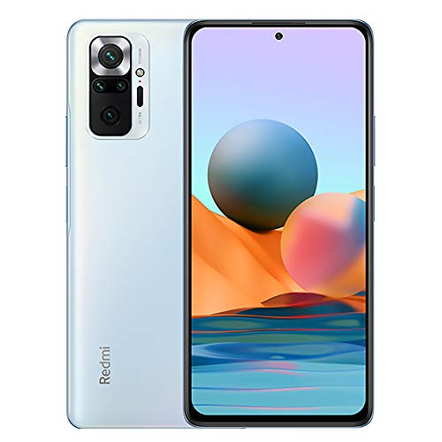 Xiaomi Redmi Note 10 Pro Smartphone 6GB 128GB Teléfono, 6.67' AMOLED Dot Display, Qualcomm Snapdragon 732G Versión Global(Azul)