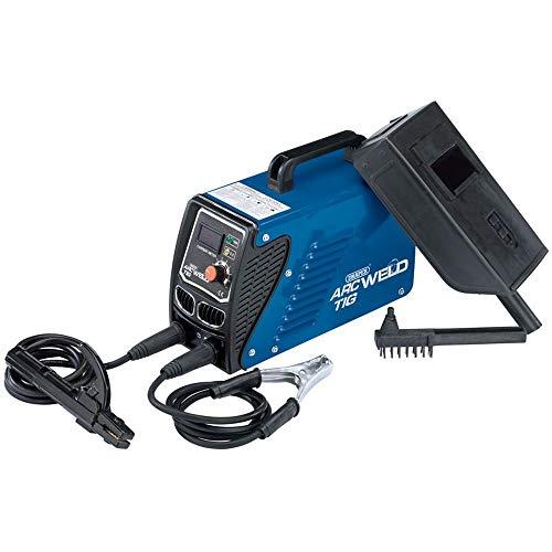 Draper inv106100un Arc/soldador Inverter TIG Kit, 230V, Azul