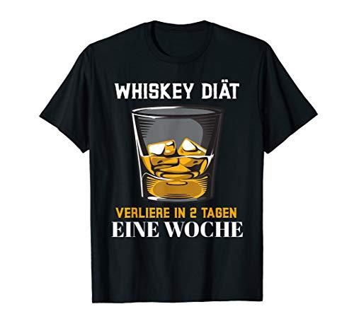 Whiskey Scotch Diät T-shirt Geschenkidee Scherzgeschenk T-Shirt