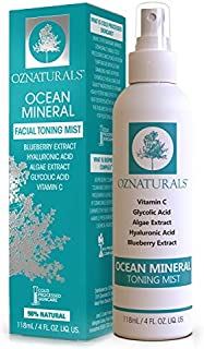 OZNaturals Facial Toner- This Natural Skin Toner Contains Vitamin C, Glycolic Acid & Witch Hazel - This Face Toner Is Considered The Most Effective Anti Aging Vitamin C Toner Available!